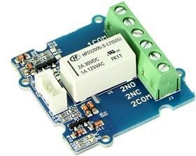 Фото 1/3 Grove - 2-Coil Latching Relay, Релейный модуль 3А для Arduino проектов