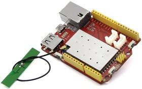 Фото 1/5 Seeeduino Cloud - Arduino Yun compatible openWRT controller, Программируемый контроллер на основе МК ATmega32U4 + Wi-Fi интерфейс (аналог Ar