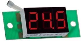 ТМ-14 бескорпусной ( red), Термометр с внешним датчиком