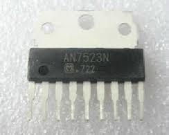AN7523[N], Одноканальный усилитель низкой частоты, 3Вт, 3.5…13.5В