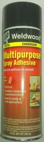 WELDWOOD Multi-Purpose Spray Adhesive 455г, Клей аэрозольный универсальный