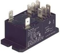 T92S11D22-12, Реле DPDT, 12VDC, 30A