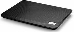 """Подставка для ноутбука Deepcool N17 BLACK 14"""" 330x250x25mm 21dB 1xUSB 465g Black [n17black]"""