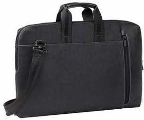 """Сумка для ноутбука RIVA 8931 15.6"""" искусственная кожа черный"""