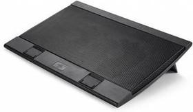 """Подставка для ноутбука Deepcool WIND PAL FS (WINDPALFS) 17""""382x262x24мм 26.5дБ 2xUSB 2x 140ммFAN 793"""