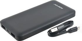 Фото 1/3 LP10-K (черный), Внешний аккумулятор портативный, Power Bank (10000mAh) USB-micro USB, 2.1A