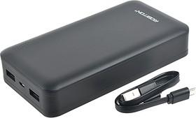 Фото 1/3 LP20-K (черный), Внешний аккумулятор портативный, Power Bank (20000mAh) USB-micro USB, 2.1A