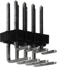 90122-0123, Разъем типа провод-плата, 2.54 мм, 6 контакт(-ов), Штыревой Разъем, C-Grid III 90122 Series
