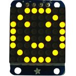 871, LED DISPLAY, DOT MATRIX, 8X8, YELLOW
