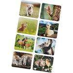 Коврик для мыши Hama Animal 8 вариантов расцветки 220x180x1мм