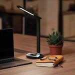 75-0219, Светильник настольный Status LED, USB-зарядка устройств, 2700-6500 К ...