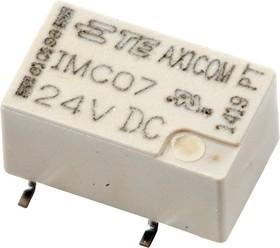 1-1462042-1, IMC07GR, реле 2 Form C 24В 2А/250В