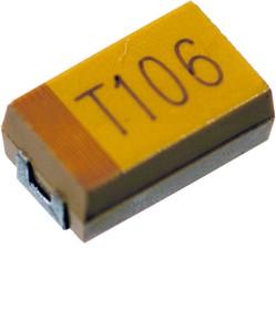 10UF 50V 10 D CASE, TECAP тант.чип конд. 10 мкф х 50в типD 10%