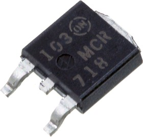 MCR718RL, Thiristors 4A 600V DPAK