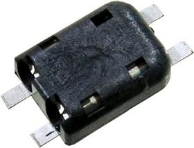 1-1954097-1, PokeIn SMT разъем 2конт.для светод.250В/5А черный