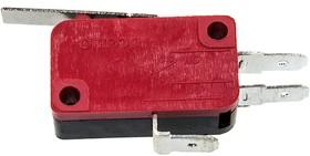 V-152-1C25, 250В, 15А , микропереключатель с лапкой