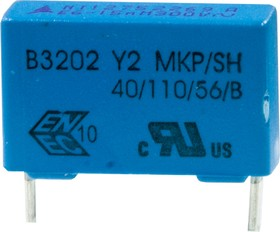 B32022A3153M, 000, Y2конд 15nFx300v аналог B81122A1153M