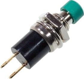 PB-05А-7KGN1-G, кнопка c фикс. 250В 1А зел.OFF-ON
