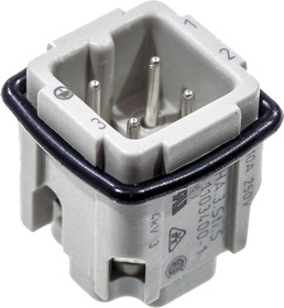 1-1103400-1, HTS HA.3-контактная вилка под отвертку