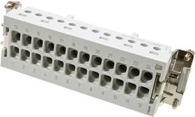 1-1103641-1, HTS HE. 24-контактная розетка под отвертку
