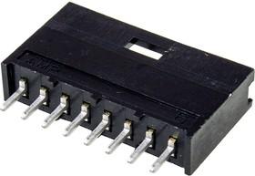 280373-2, Прямой штекерный соединитель, 8-штыревой 1x8P