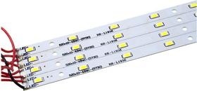 LED kit 5000K, Набор 4 линейки 520x12мм, 64 светодиодов 5630 0,5 Вт