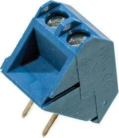 DG330-5.0-02P-12-00A, клеммник винтовой 2конт. 5мм