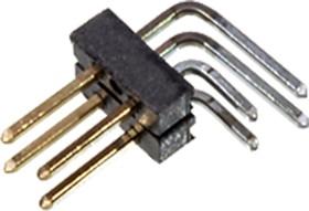 5-146308-2, вилка Connector AMPModu Breakaway 4pos