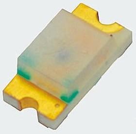 VLMTG1300-GS08, LED Uni-Color Green 530nm 2-Pin Chip 0603(1608Metric) T/R