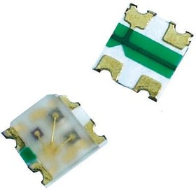 LTST-C19HE1WT, LED Tri-Color Blue/Green/Red 468nm/520nm/632nm 4-Pin SMD T/R