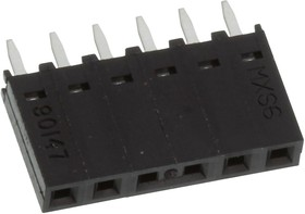 Фото 1/2 70246-1401, Разъем типа провод-плата, 2.54 мм, 14 контакт(-ов), Штыревой Разъем, C-Grid 70246 Series