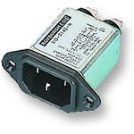 RID-0342-H, IEC фильтр, 47000 пФ, 250 В, IEC, Сетевой, 3 А ...