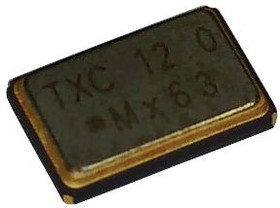 7X-24.576MBB-T, Кварцевый генератор, 24.576МГц, 50млн-1, SMD, 5мм x 3.2мм, 3.3В, 7X серия