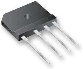 VSIB500, Мостовой выпрямитель, серия VSIB, 1 Фаза, 1 кВ, 4 А, SIP, 1.1 В, 4 вывод(-ов)
