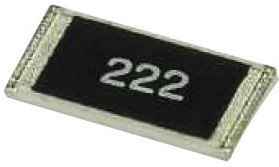 Фото 1/2 35211K1FT, SMD чип резистор, 2512 [6432 Метрический], 1.1 кОм, Серия 3520, 250 В, 2 Вт