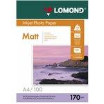 Фотобумага Lomond 0102006 A4/170г/м2/100л./белый ...