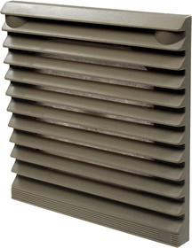 JLVFP-802, решетка для вентилятора с фильтром 116х116мм