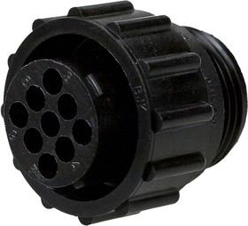 CPC13-9, Корпус вилки каб. 206708-1 для гнезд.конт. III+ 16
