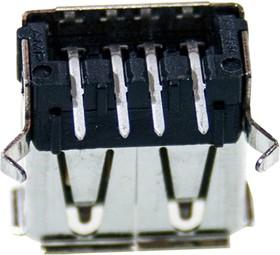 292303-1, Разъем USB Type A розетка