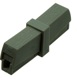 XY604 электромонтажная клемма 400В/24А 22-14AWG (WAGO 224-211)