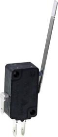 VMS15-03N-40G-G, микропереключатель с длинной лапкой 52мм 250В 15А
