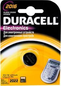 CR2016, 3В, BC1, дисковый, литий ,1шт.