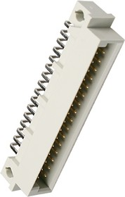 DIN41612R, вилка угл. 90 16 x 2 ряда AB 32 конт.