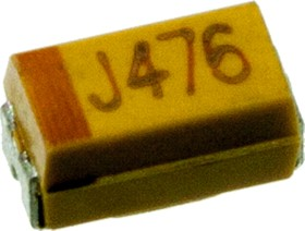 47UF 6.3V 10 A CASE, ЧИП конденсатор танталовый 47 мкф x 6.3в типA 10%