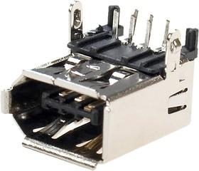 IEEE1394, розетка на плату DIP