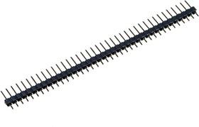 PLS-39, вилка штыревая 2.54мм 1x39 прям.