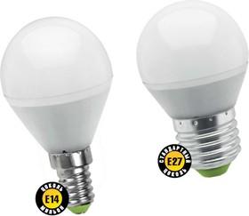 "NLL-P-G45-5-230-2.7K-E14 (94476), Лампа светодиодная ""шар"" 5Вт,220В (теплый)"