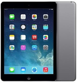 Планшет APPLE iPad Air 32Gb Wi-Fi MD786RU/B, 1GB, 32GB, iOS темно-серый