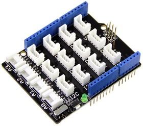 Фото 1/4 Base Shield V2, Модуль расширения для подключения модулей Grove к Arduino UNO и совместимым платам