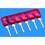 Фото 2/2 4610X-101-101LF, Res Thick Film NET 100 Ohm 2% 1.25W ±100ppm/C BUS Conformal Coated 10-Pin SIP Pin Thru-Hole Bulk